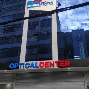 aviso para centro comercial optical center